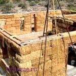 Дом из подножных материалов часть 3