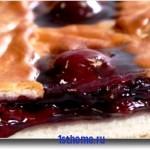 Готовим вишневый пирог