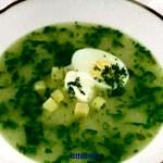 Готовим суп из крапивы
