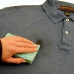 Удаляем клей с одежды