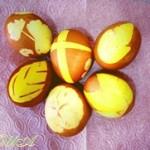 Способ окраски яиц к Пасхе (советы)