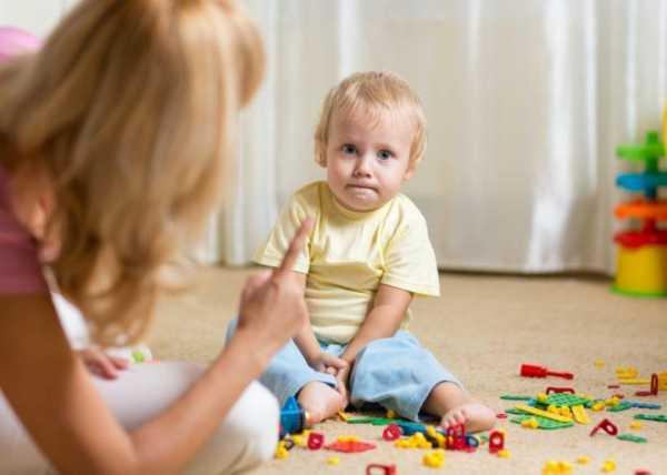 Как научить ребёнка понимать слово «нельзя»?
