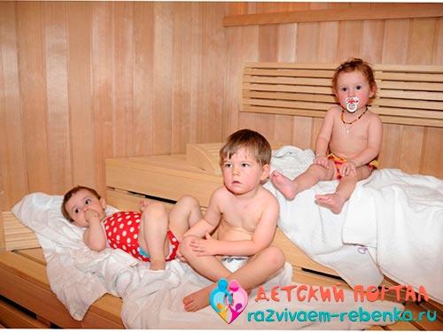Можно ли ребенку в баню при кашле, опасно ли посещение бани ребенком с сухим или мокрым (влажным) кашлем