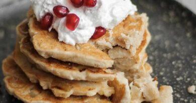 Кексы и оладьи с яблоками – для завтрака на правильном питании. Как приготовить оладьи с яблоками