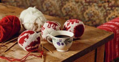 Как связать шары на елку: схема вязания и фото. Схема вязания елочных игрушек